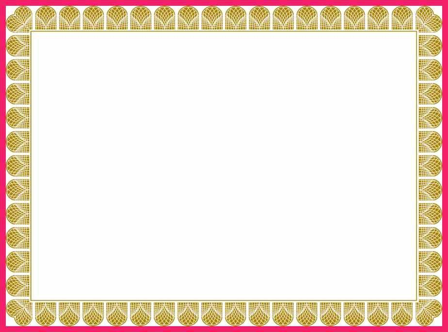 Certificate Border Template. certificate border 3. free vector ...