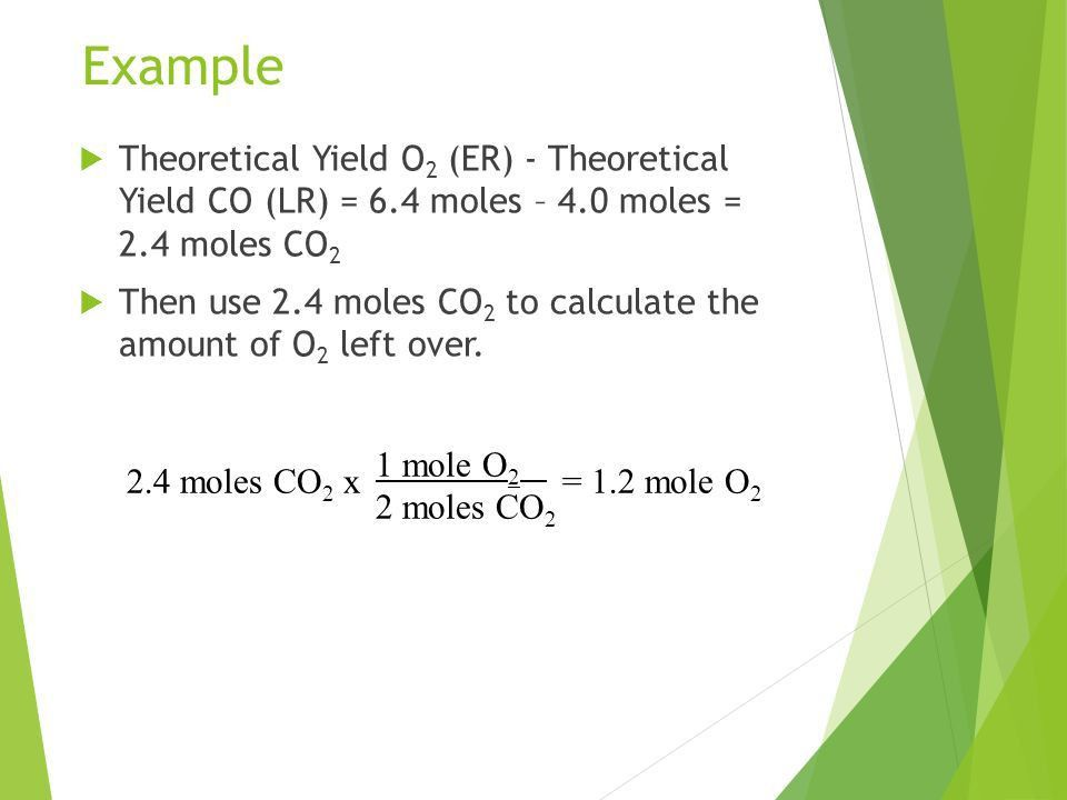 Stoichiometry. Information Given by the Chemical Equation  The ...