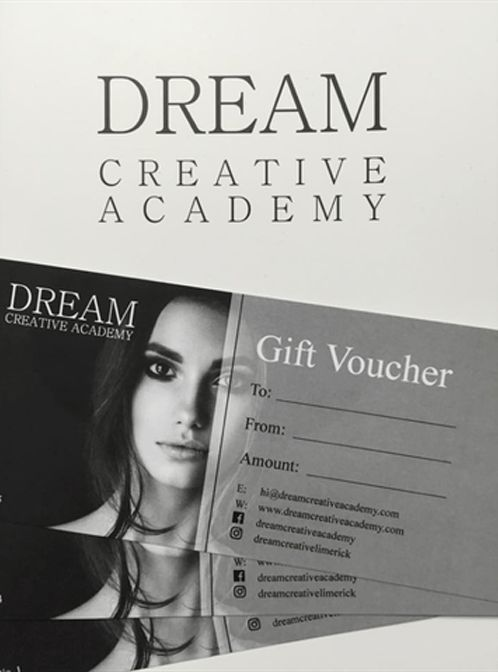 Make-Up Gift Vouchers | Make-Up College Limerick | Become a Makeup ...