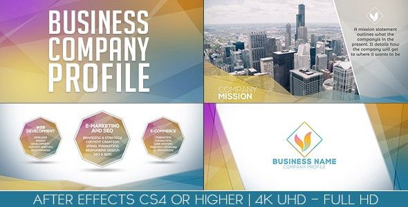 Business Company Profile by ouss | VideoHive