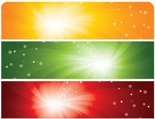 Colorful Banners Templates vector | AI format free vector download ...