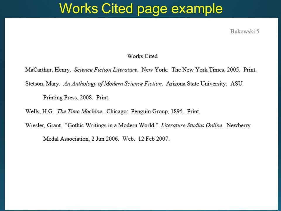 MLA Format Writing a Research Paper in MLA Format. - ppt download