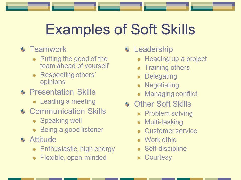 resume soft skills list - Etame.mibawa.co