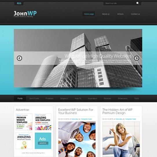 Float 3D - HTML Template - Blog Style - Website Templates ...