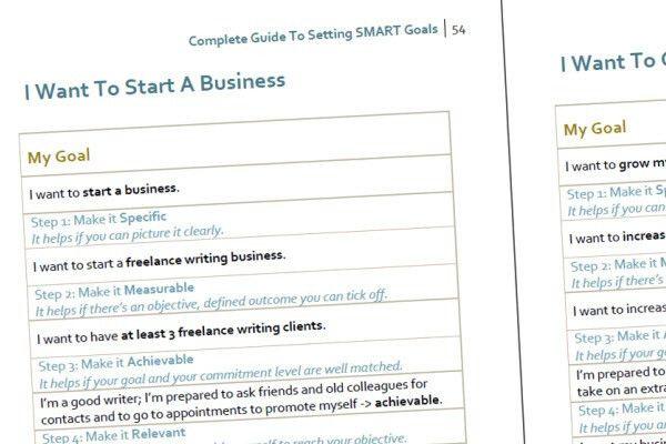 Setting SMART Goals   Templates, Examples & Worksheets