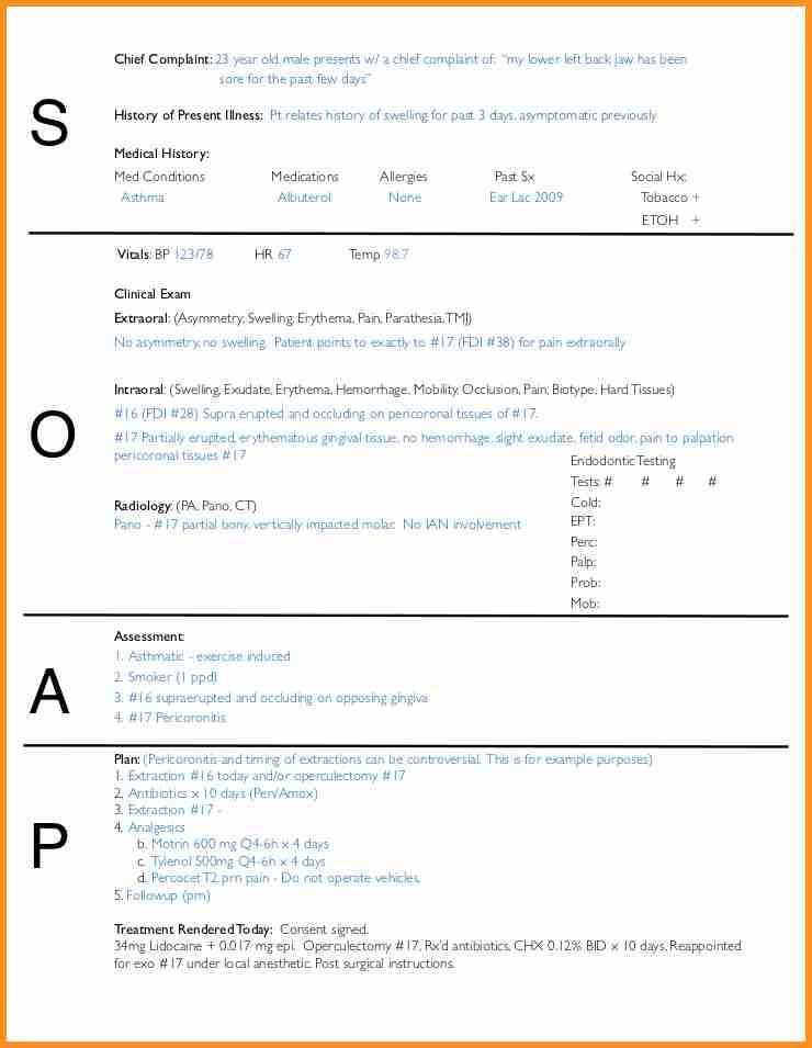 9+ soap note template word | cook resume