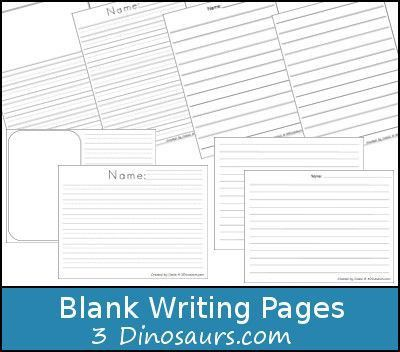 73 best FREE Writing Papers For Kids images on Pinterest ...