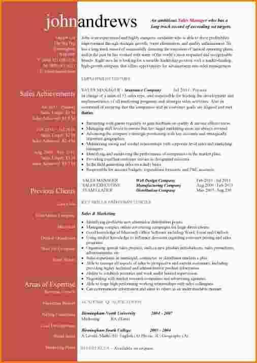 6+ attractive cv templates | paradochart