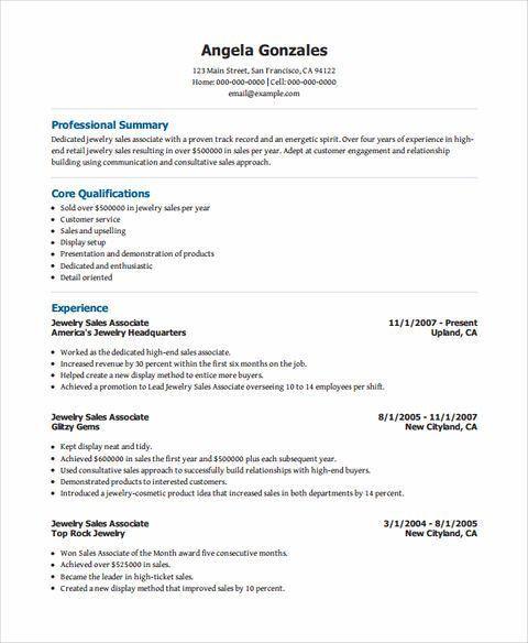 store associate resume unforgettable sales associate resume