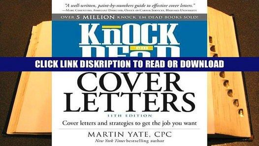 28+ Knock Em Dead Cover Letters Pdf | Cover Letter For Fashion ...