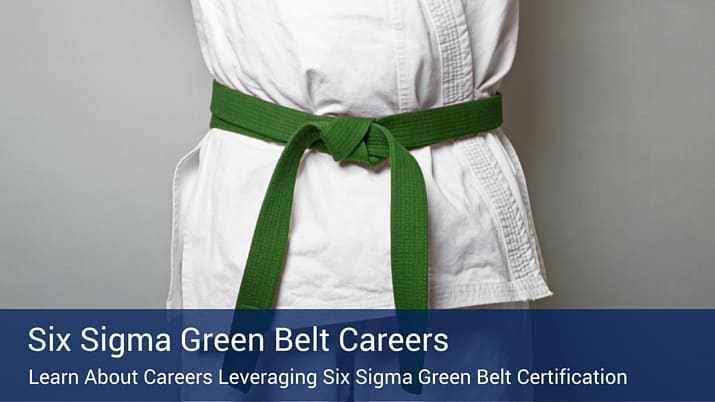 Which Careers Utilize Lean Six Sigma Green Belt Certification?