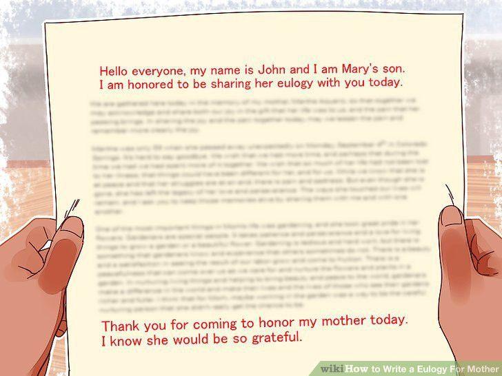 how to write a eulogy for mum - thebridgesummit.co
