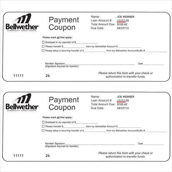 free coupon templates printable