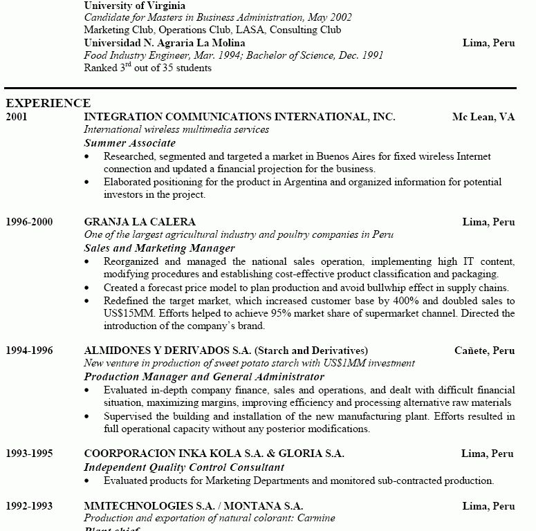 Inspiring Ideas Perfect Resume Example 4 Examples Of Good Resumes ...