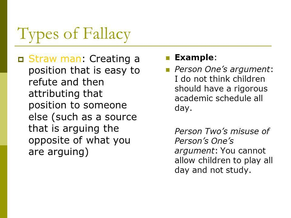 Bias and Fallacy How to recognize it in others' work And Avoid it ...