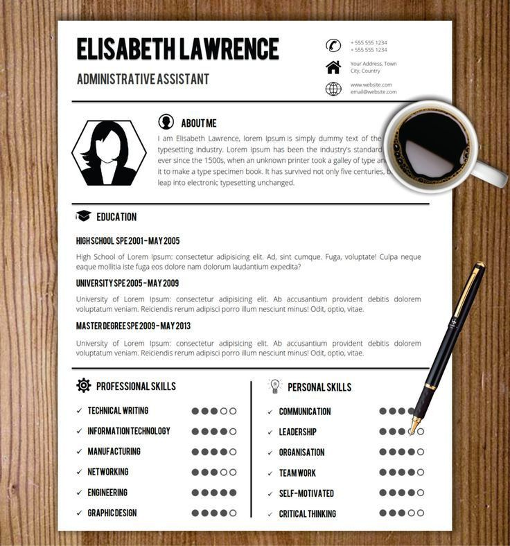 32 best CV / Resume Templates in MS Word images on Pinterest ...