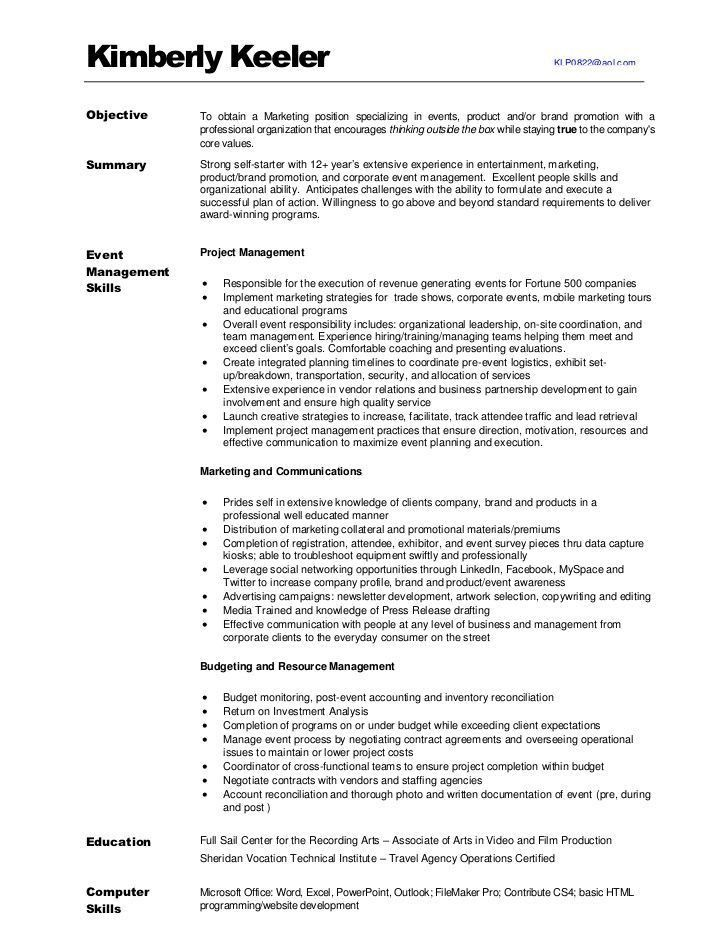 Marketing Skills Resume. Business Development Manager Cv 6 ...