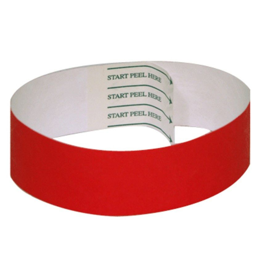 Wristbands - Tab-free | by FreshTix Ticket Printing