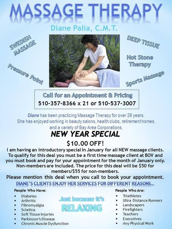 Massage Therapy Flyer Template - Contegri.com