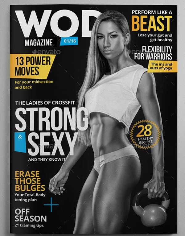 Fitness Magazine Template - 7+ Free PSD, EPS, AI, Vector Format ...