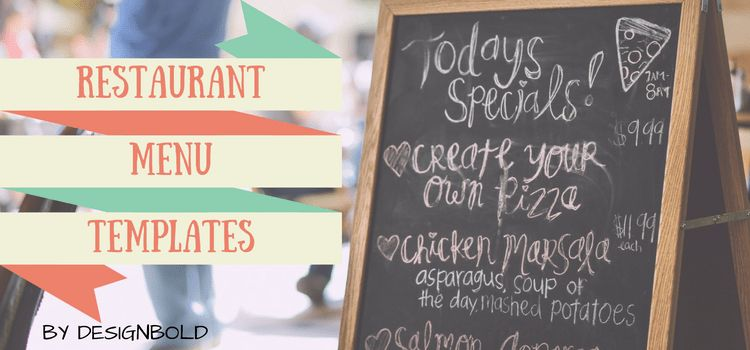 20+ Outstanding Restaurant Menu Templates for Food and Drink Business