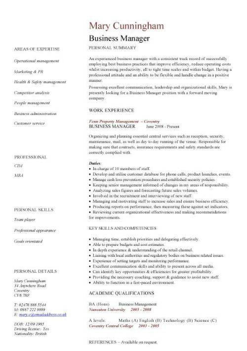 Business Development Director Cover Letter