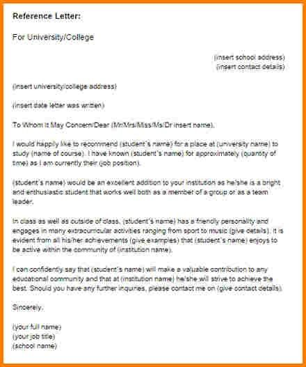9+ recommendation letter for graduate students samples | quote ...
