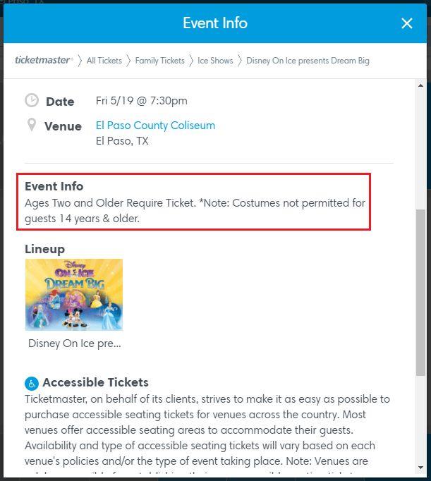 Ticketmaster.com - FAQs   Purchasing Tickets