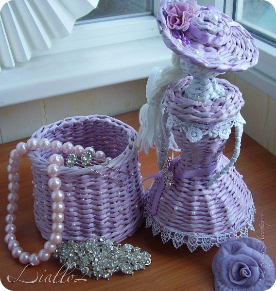 Кукла плетение из газетных трубочек мастер класс