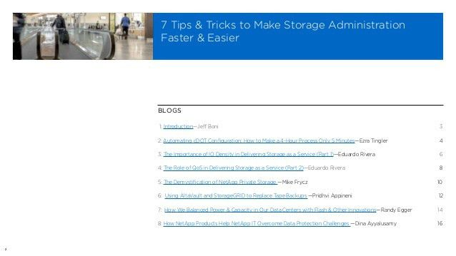 7 Tips and Tricks to Make Storage Admin Faster and Easier