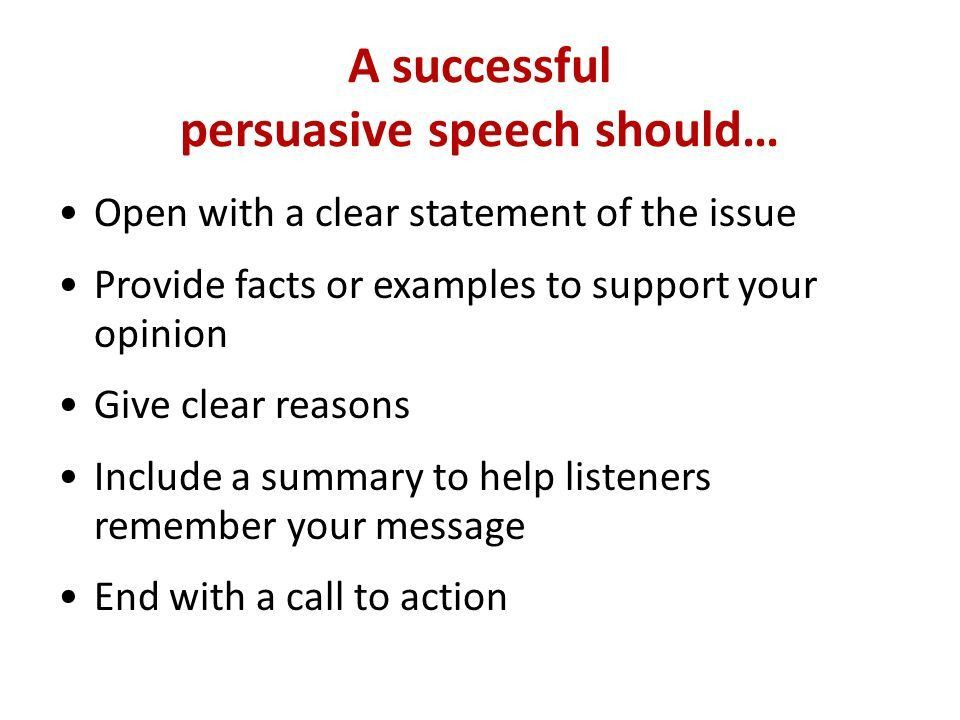Schedule 8Lesson on Persuasive Speaking, Topics chosen for Final ...