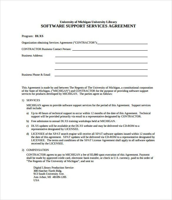 Child Support Agreement Template. Child Parenting Custody ...
