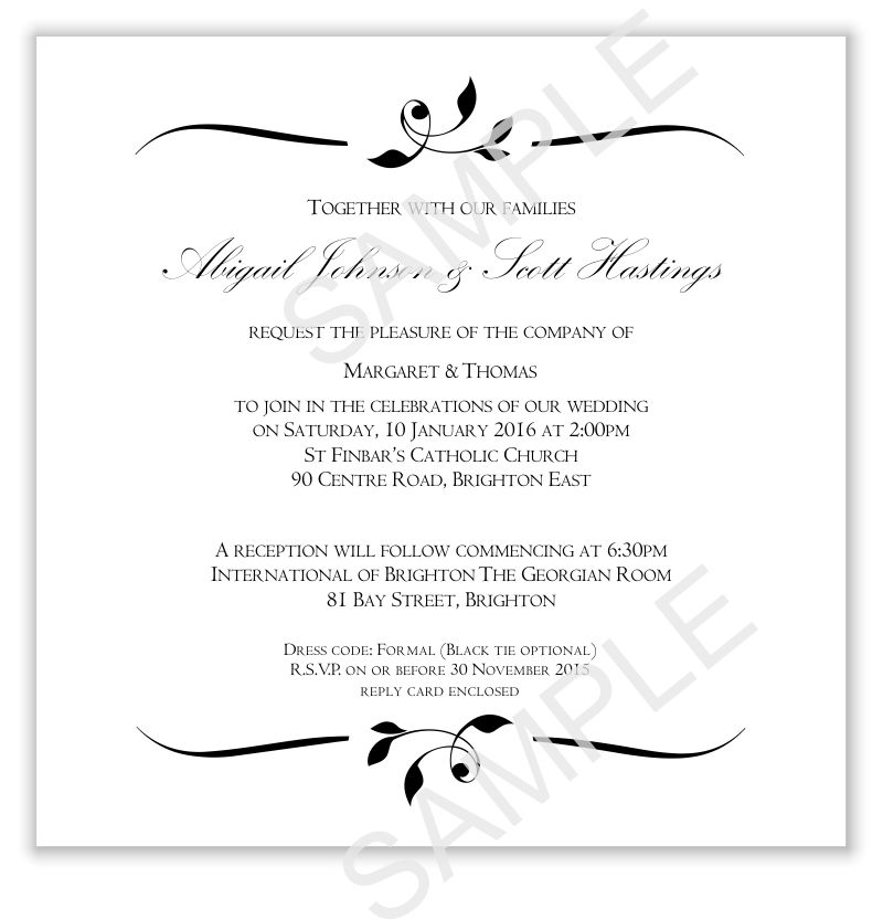 Blank Wedding Invitation Templates | futureclim.info