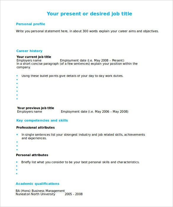 How To Fill Out A Resume 20 Filling Out Resume Marvellous Design ...