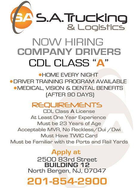 CAREERS | SA Trucking