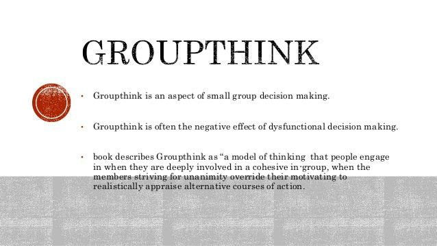 Group think to you think