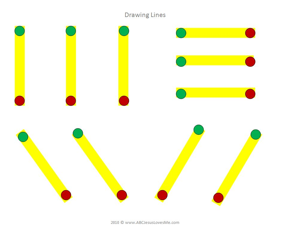 Pre Writing Strokes Worksheets - Huanyii.com