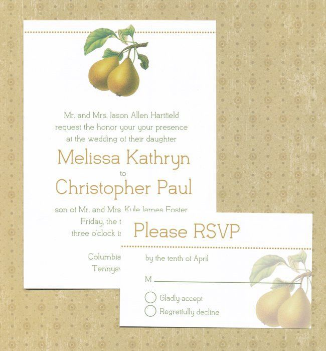 Free Printable Wedding Invitations | POPSUGAR Smart Living