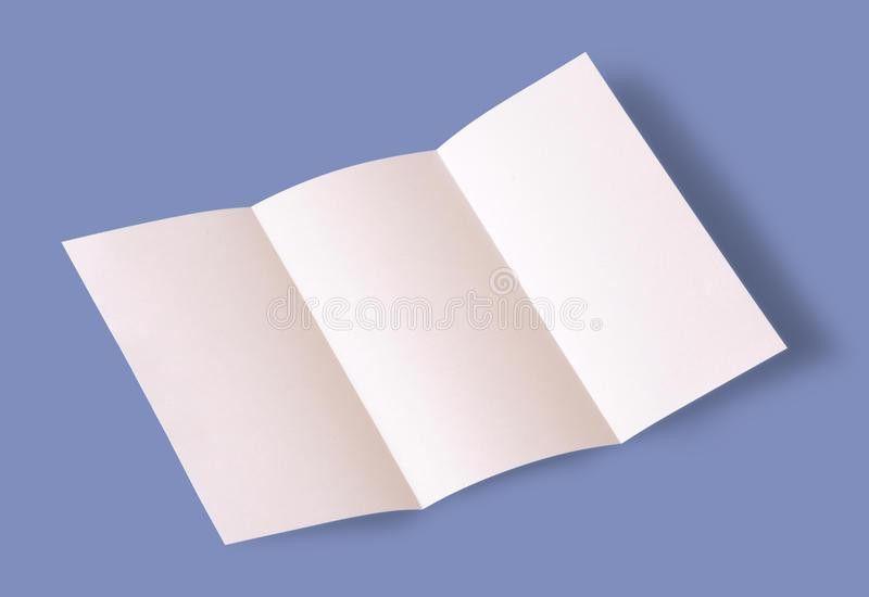 Blank Brochure Stock Photo - Image: 40390953