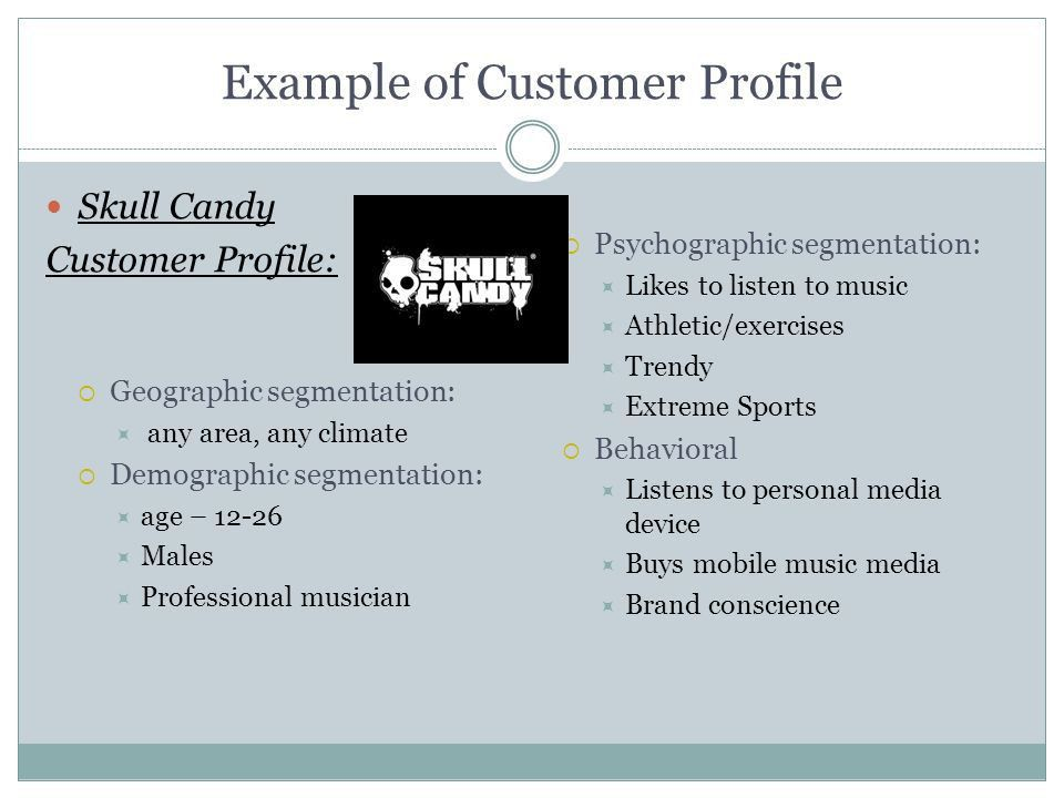 STANDARD 3 The Target Customer. Why? Knowing & understanding ...