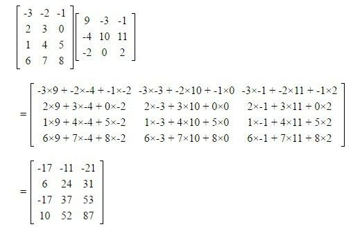 Matrix Multiplications - Scalar and Vector | Rules & Examples