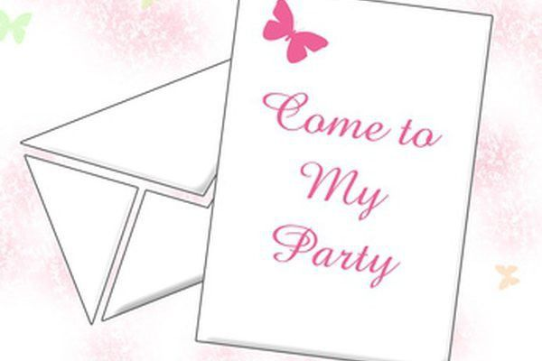 Making Invitations on Microsoft Word | It Still Works | Giving Old ...