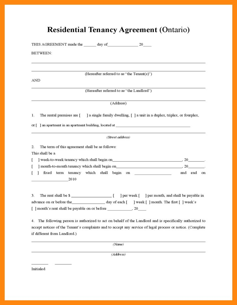 5+ tenant agreement form free | graphic-resume