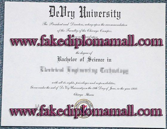 DeVry University degree, American certificate_Buy degree|buy ...