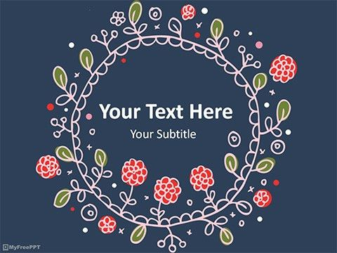 Free Flowers PowerPoint Templates, Themes & PPT