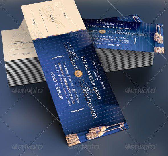 19 Useful Event Tickets Templates – Design Freebies