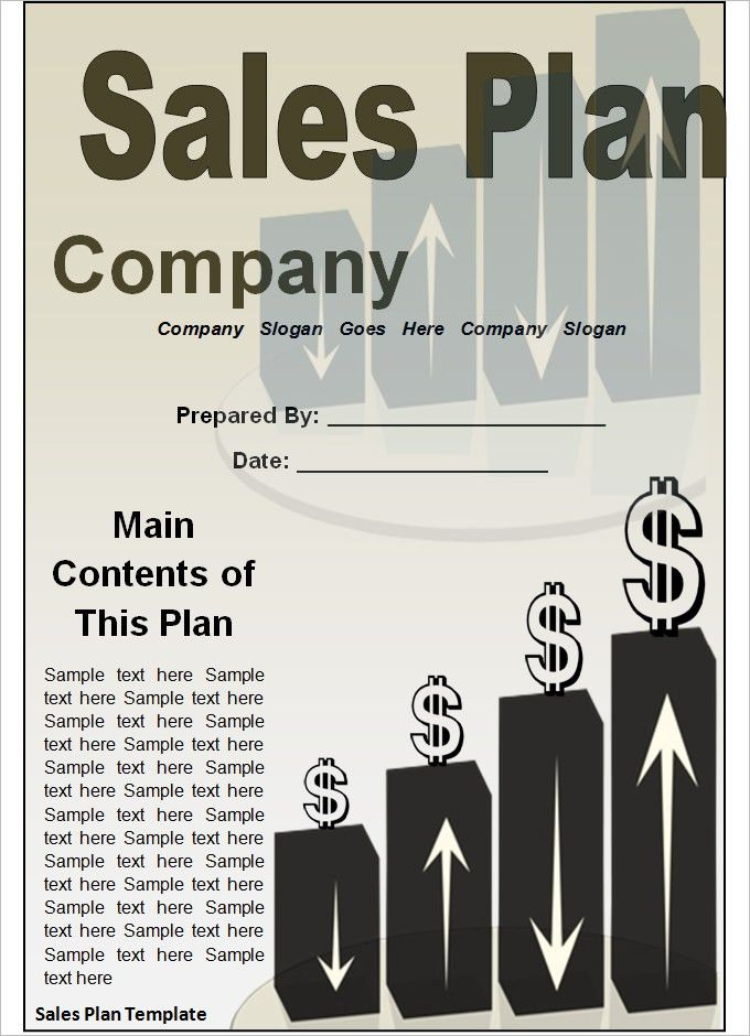 Strategic Sales Plan Templates - 5+ Free Sample, Example Format ...
