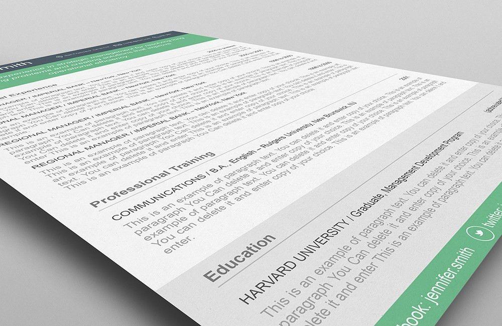 Resume Template - 110380 | ResumeWay