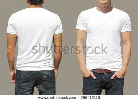 Tshirt Template Stock Photo 256412119 - Shutterstock