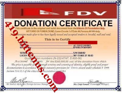Watch out for donation scams.